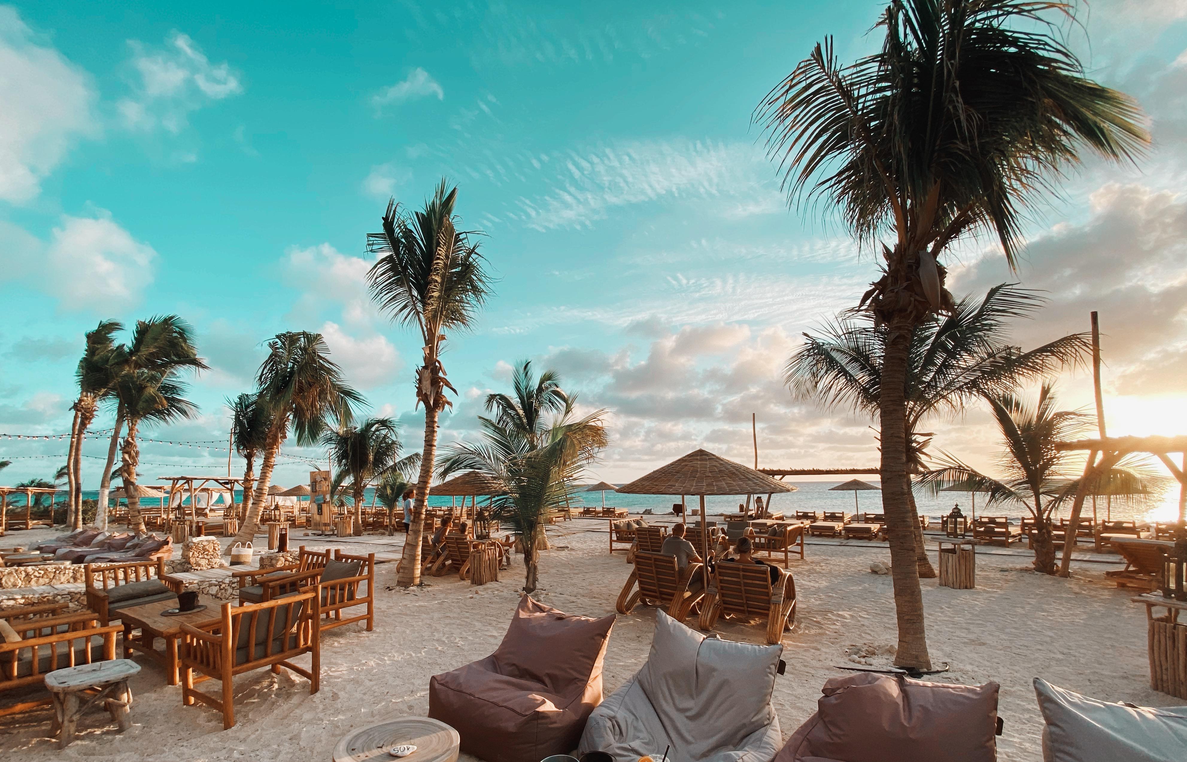 Golden Hour Ocean Oasis Beach Club Bonaire
